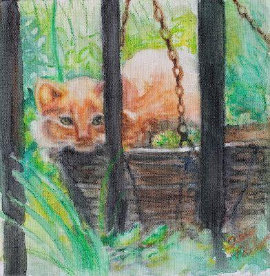 tracyfeldmanartblog: Even Unwanted Kittens are Cute