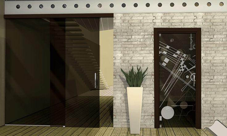 Porte in vetro,MR art design produttore di porte in vetro, porte scorrevoli,porte in cristallo, porte scorrevoli a scomparsa,porte a battente,porte a vento.