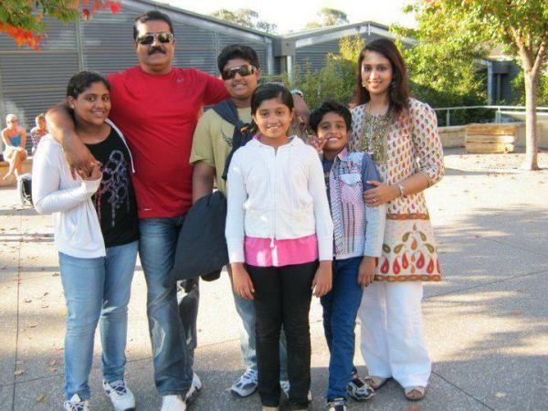 Suresh Gopi family