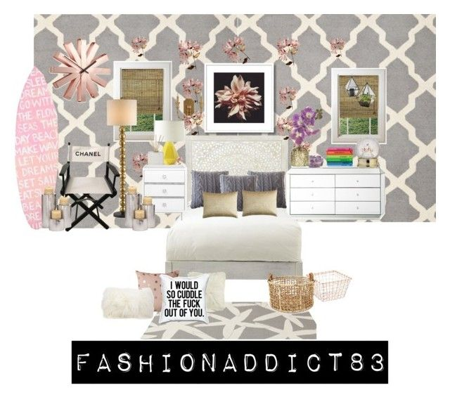 """""""Sin título #364"""" by mar-quintana on Polyvore featuring moda, Safavieh, Home Decorators Collection, Serena & Lily, Pom Pom at Home, Pier 1 Imports, Chanel, Currey & Company, Somerset Bay y Bloomingville"""
