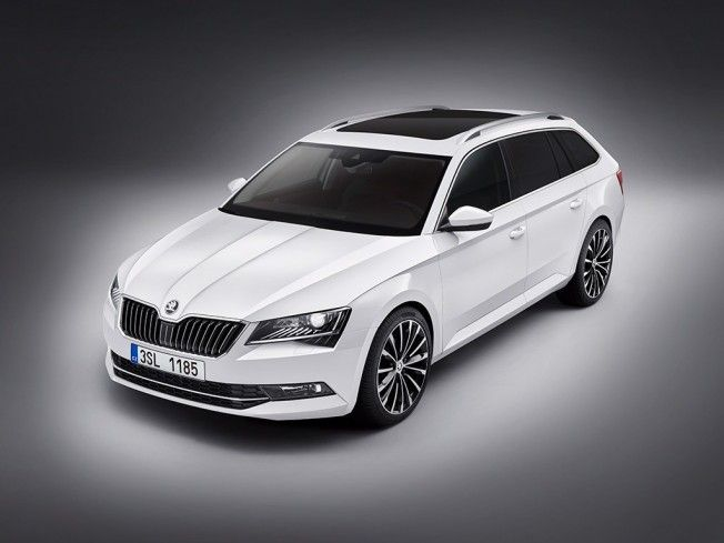 The perfect interplay of function and emotion - the first photos of the new #ŠKODA #Superb #Combi 2015 is here! Photo credit to ŠKODA