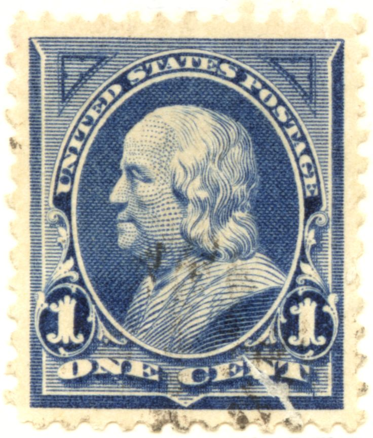 US_stamp_1895_1c_Franklin.jpg 1,051×1,236 pixels