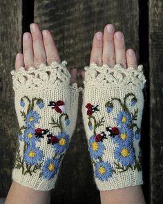 Knitting Mitts
