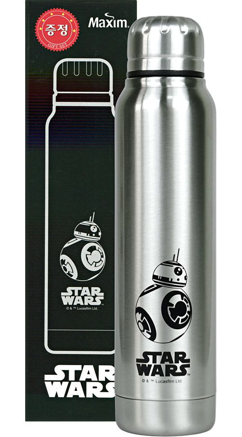 STAR WARS BB-8 Stainless Tumbler 280ml Maxim Gift Thermos & Cold Coffee Mug #STARWARS