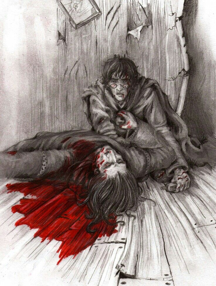 Snape's Death  Every time I look at this picture, I get really sad ;-; RIP Severus Snape
