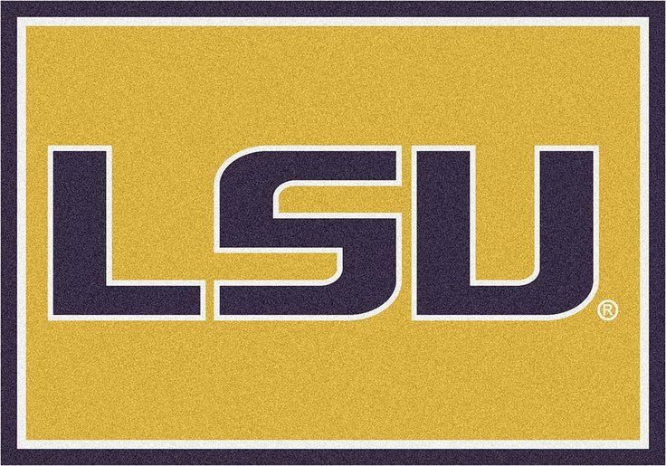 Louisiana State (LSU) Tigers 5ft 4in x 7ft 8in Team Spirit Area Rug