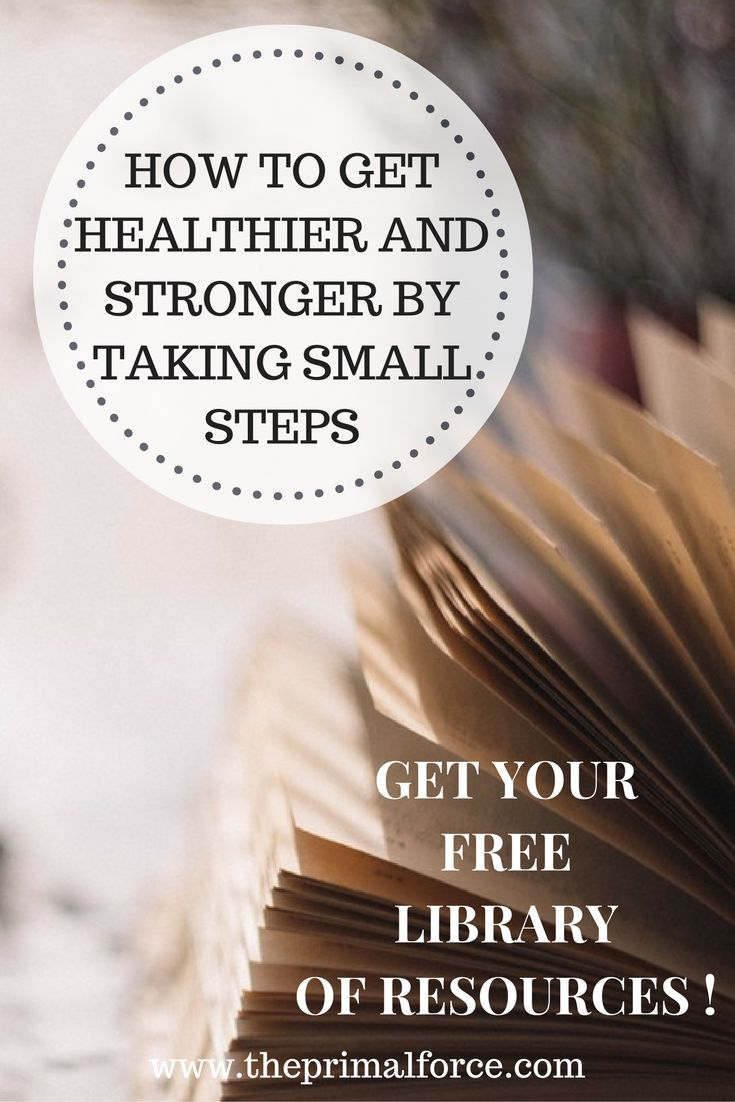 Want to get your health and fitness habits in check? This FREE library has some helpful guides, trackers, and cheat sheets to improve your health by taking small steps.