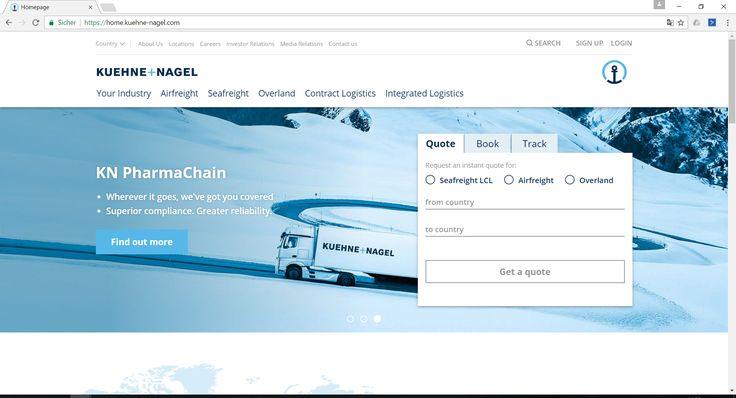 Kühne + Nagel Gruppe in guter Form - http://www.logistik-express.com/kuehne-nagel-gruppe-in-guter-form/