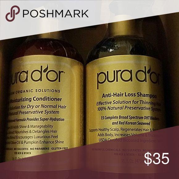 Purad'or anti Hair loss shampoo , conditioner Shampoo and conditioner purad'or  Other