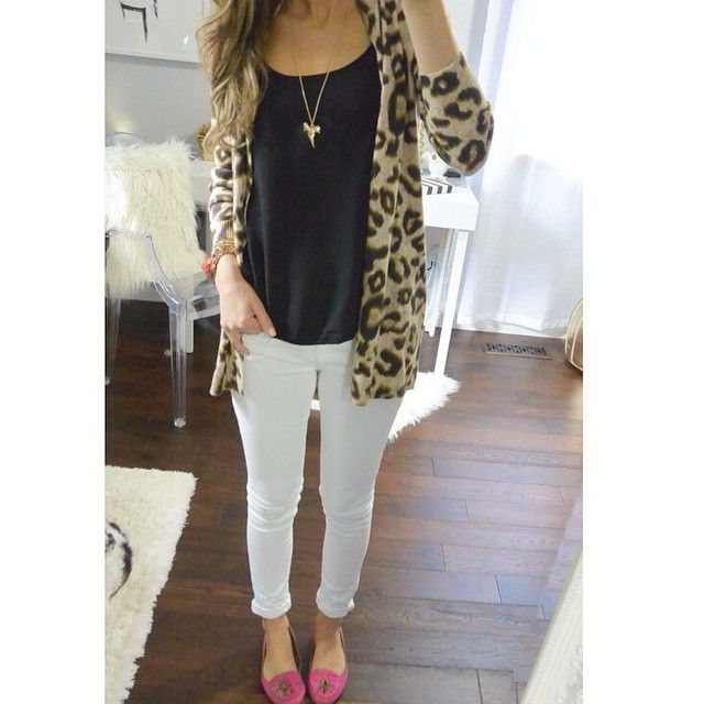 I've a feeling this light weight leopard cardigan will get a lot of love