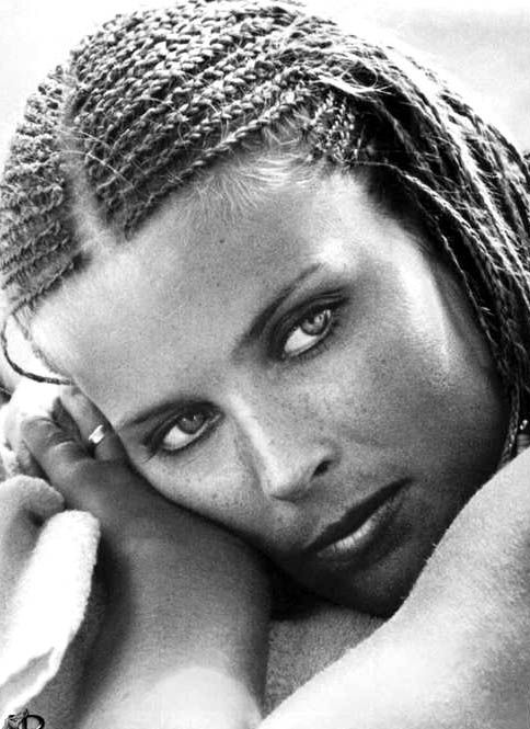 American film and television actress, movie producer, and model Bo Derek (born Mary Cathleen Collins in 1956)