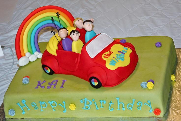 Wiggles Car Cake