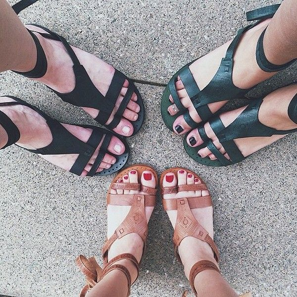 wrap sandals #freepeople