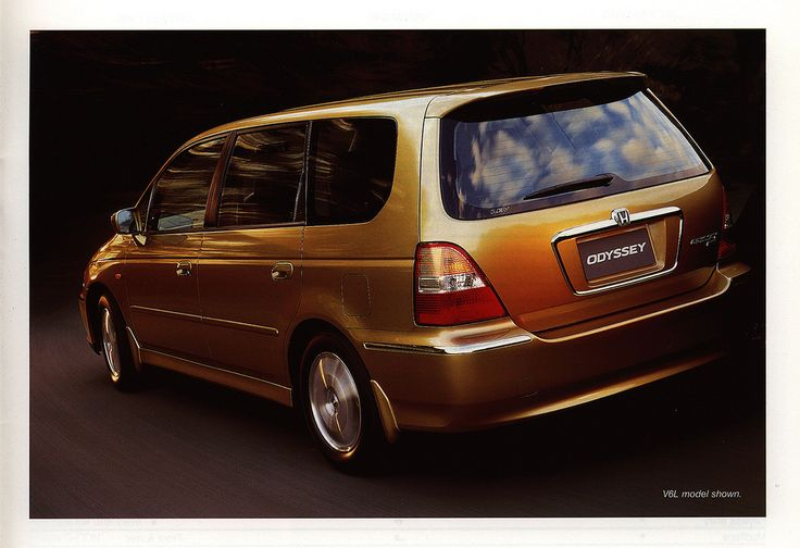 https://flic.kr/p/DHef35 | Honda Odyssey; 2001_3  (Australia) | car brochure by worldtravellib World Travel library