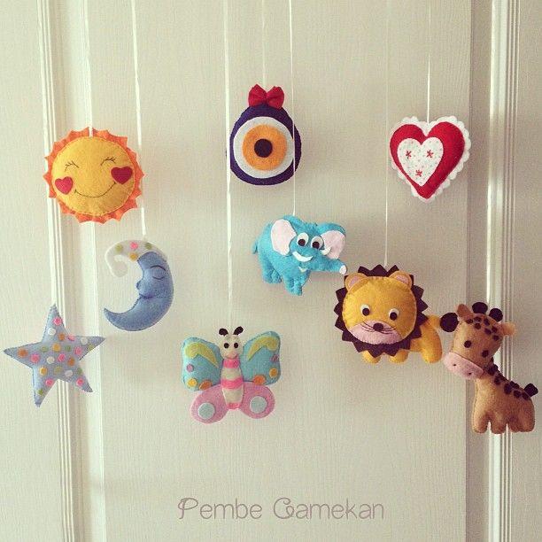 PEMBE CAMEKAN - Keçe Tasarım Atölyesi - Hediye Dükkanı: Keçe Oyuncaklar, Bebek Şekerleri