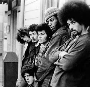 SANTANA!!! 1969 - Carlos Santana (guitar, vocals; born 7/20/47), Jose Chepito Areas (timbales; born 7/25/46), David Brown (bass; born 2/15/47), Mike Carabello (congas; born 11/18/47), Gregg Rolie (keyboards, lead vocals; born 6/17/47), Michael Shrieve (drums; born 7/6/49)