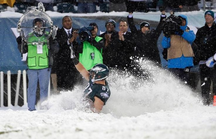 Philadelphia Eagles Detroit Lions snow game | Sporting News