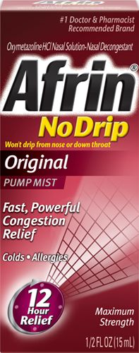 Afrin No Drip~Love this stuff!