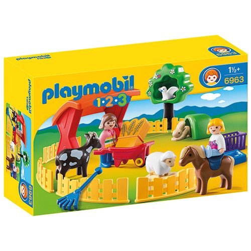 Playmobil 123 6963 Kinderboerderij