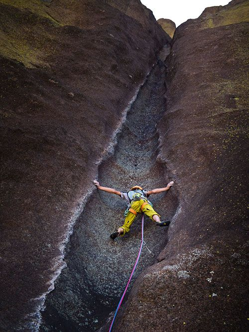 Adam Ondra on Mora Mora (12 pitches 8c, 5.14b), Tsaranoro Valley, Madagascar