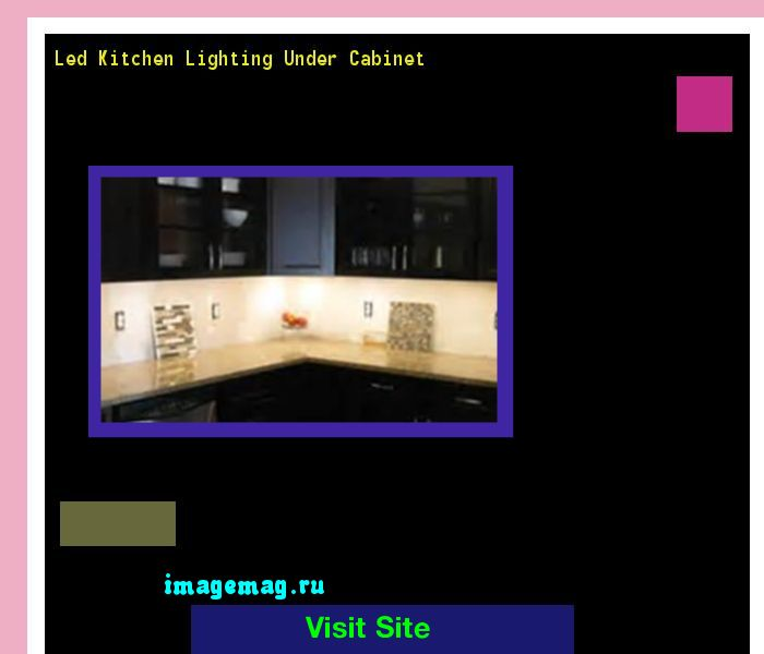 17 Best Ideas About Led Kitchen Lighting On Pinterest