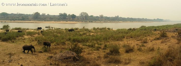 Lower Sabie camp view during spring fire season. #Kruger #camps #panorama