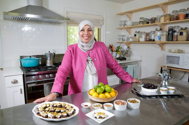 Yvonne Maffei of the website My Halal Kitchen. (Photo: Nathan Weber for The New York Times)