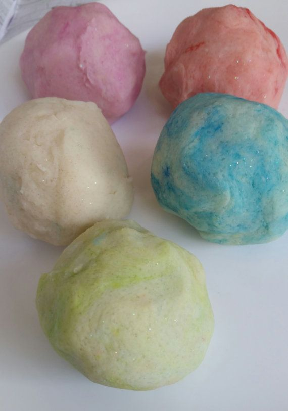 Natürliche Knetmasse Salzteig Glitter von BeeUtifullyOrganic