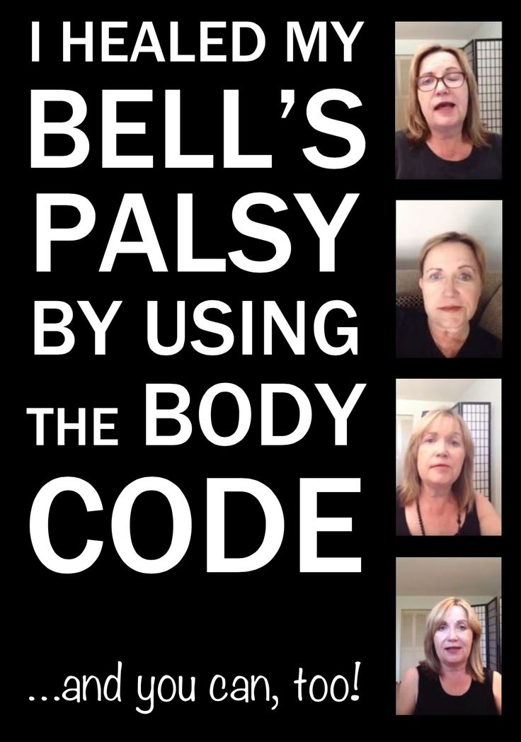 Heal Bell's Palsy naturally using The Body Code! #TheBodyCode #energyhealing #naturalhealth #bellspalsy