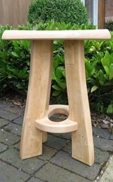 Cool CNC Project making a wooden stool in Vectric Aspire Software