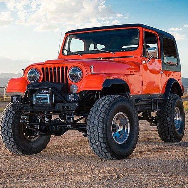 401 powered 79 #CJ7 SURVIVOR www.jeepbeef.com  _________  #jeepbeef #jeep by @dustywooddell