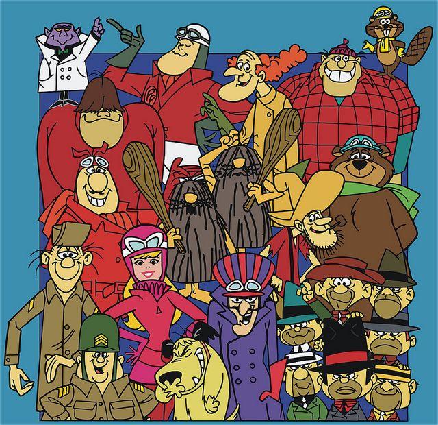 Hanna Barbera Cartoons | Hanna-Barbera's Wacky Races | Flickr - Photo Sharing!