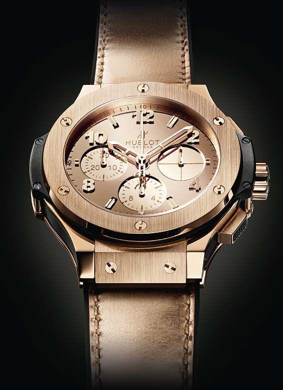 "women watches: The Watch Quote: The Hublot Big Bang Zegg & Cerlati watch - ""The superiority of women"" - A watch designed for strong, dynamic women"