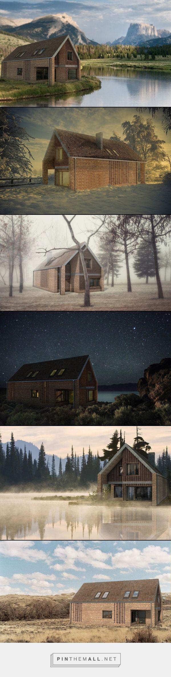 Projekt domu z cegły