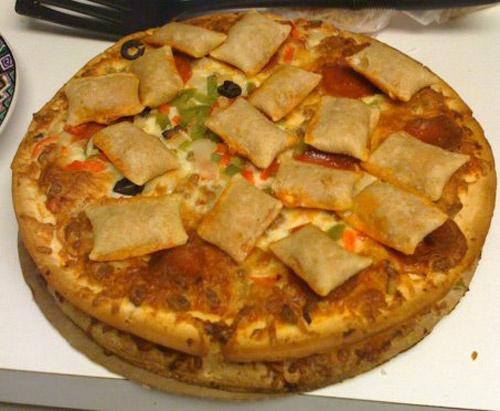 Best Stoner/Munchie Snacks -- The Stoner Pizza .....vvv.....