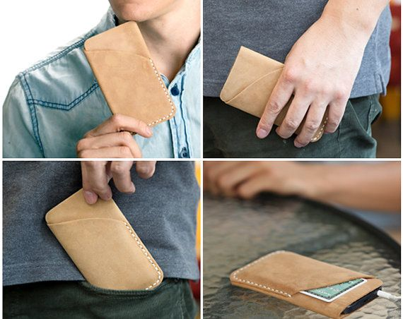 iPhone 5 Handmade Leather/iPhone 5sleeve /iPhone 5case /iphone5 cover/iphone5 bag