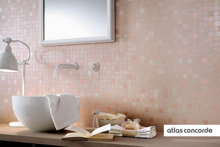 #RADIANCE | #Rose | #Mosaic | #AtlasConcorde | #Tiles | #Ceramic