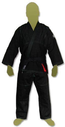 Traditional style Jiu Jitsu Gi/Kimono strong lightweight single weave. Traditional BJJ Cut. Thick collar.This Gi design features an injected foam mold collar that makes the jacket almost a full pou...