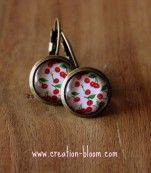 * Boucles d'oreilles Cherries *