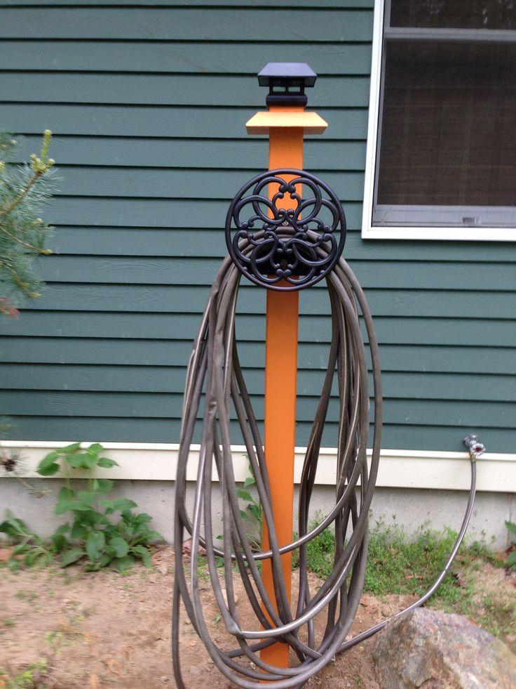 DIY Garden Hose Holder! Under 20! Garden Pinterest