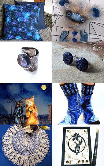 Night Sky by Iya Churakova on Etsy--Pinned with TreasuryPin.com