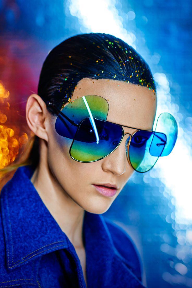 #FAKBYFAK x Manish Arora #FW16 - limited edition sunglasses available at #sunglasscurator.com