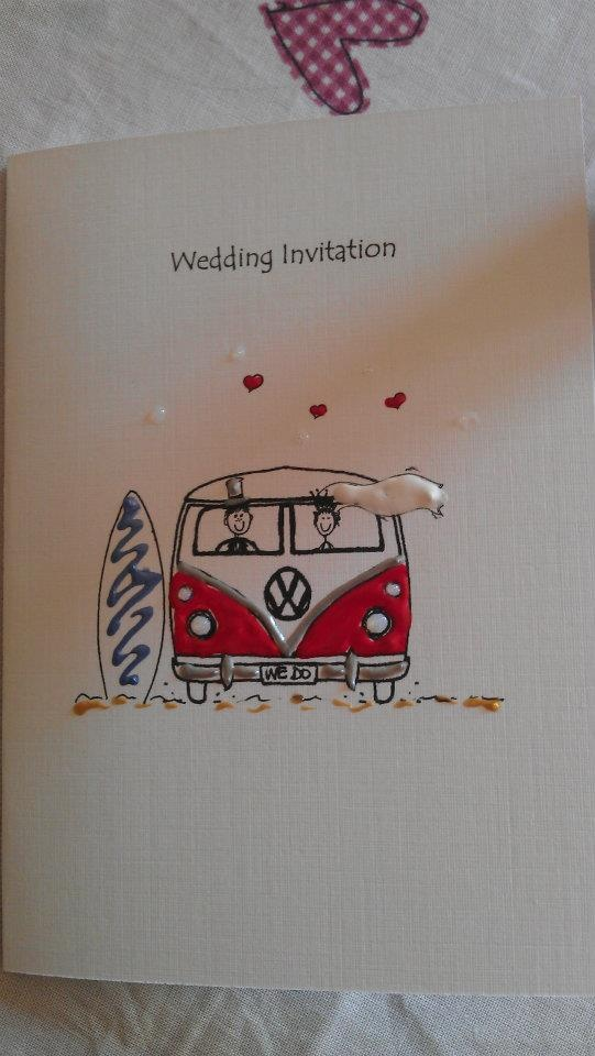 Beautiful hand made wedding invitations made by The Lighthouse Drawing Rooms in Belfast.  http://www.lighthousecards.co.uk/
