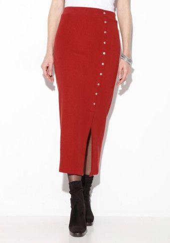 Dlhá vrúbkovaná  sukňa #ModinoSK