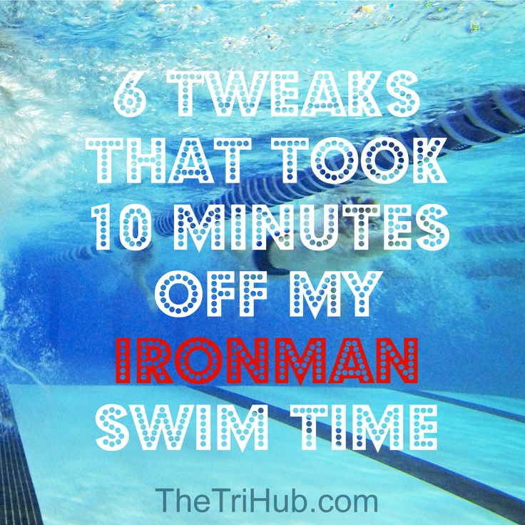 6 Tweaks That Took 10 Minutes Off My Ironman Swim Time