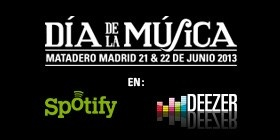 Dia de la Musica in Madrid - 21-22 June 2013 - eclectic mix festival including The Fall, Spiritualized, Lori Meyers and Deptford Goth...!