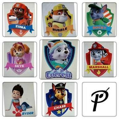 Paw Patrol Namen