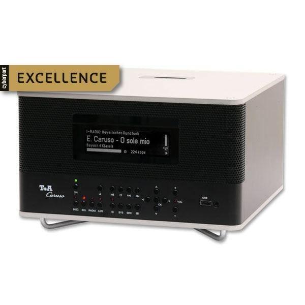 T+A bringt mit dem Caruso ein völlig neues HiFi-Kompaktsystem auf den Markt, das mit modernsten und innovativsten Technologien ausgestattet ist. http://www.cyberport.de/tv-audio/stereoanlagen/7A29-103/tplusa-caruso.html