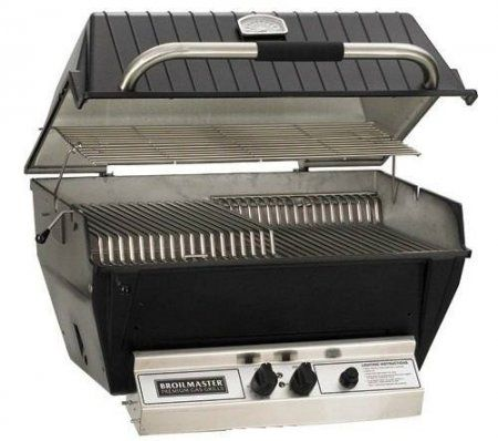 P3SXN Natural Gas Super Premium Grill with Flare Busters Flavor Enhancer Stainless Steel Griddle and Smoker
