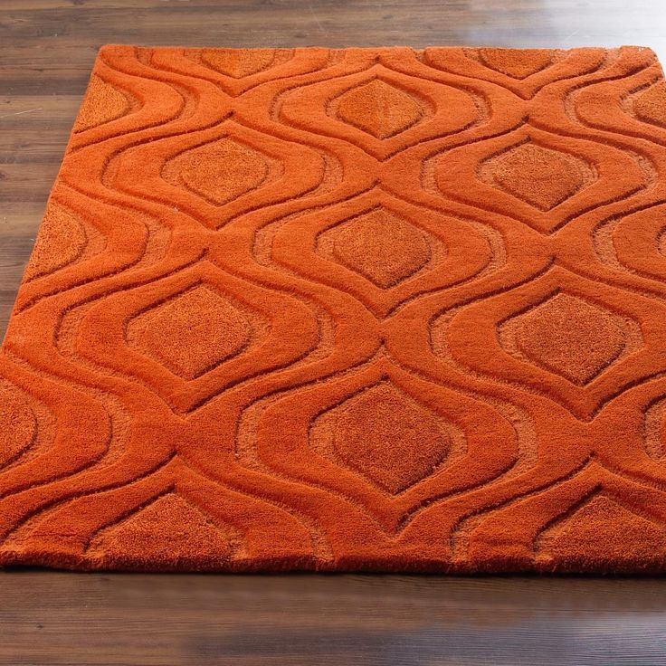 Plush Pea Diamond Texture Rug